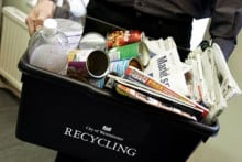 The council is tendering its mixed recyclable contract for a possible eight years