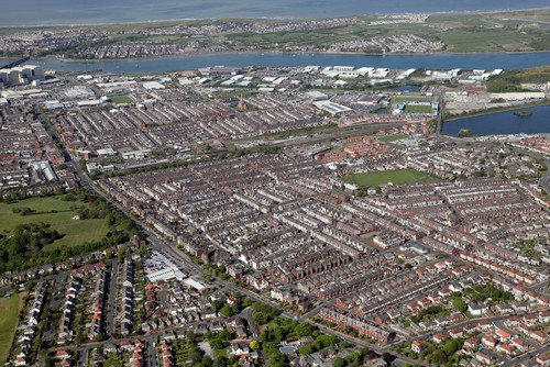 The Cumbria town of Barrow-in-Furness. (Picture copyright: Neil Mitchell, Shutterstock)