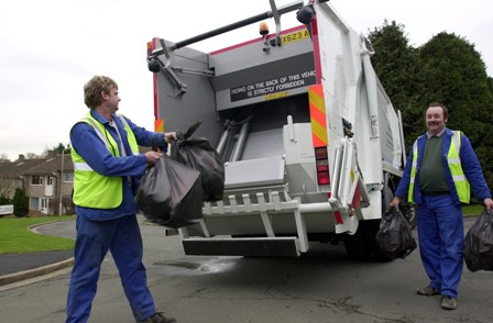 Councils have a legal duty to collect waste from households