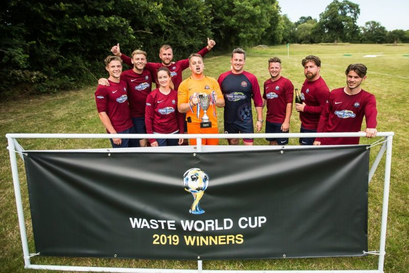 Waste World Cup glory for Shred Station - letsrecycle com