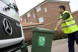 Recycling rates in England are stagnating, according to the latest figures
